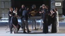 Flamenco, danza y teatro se fusionan en 'Dionisio'