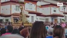 Salvada por los vecinos la procesión de laVirgen de Belén