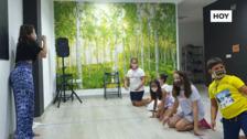 Finaliza el campamento de verano donde los niños aprenden artes escénicas