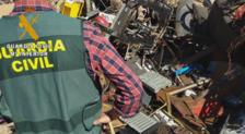 La Guardia Civil detiene e investiga a tres personas por 18 delitos de robo en explotaciones agrícolas de Miajadas