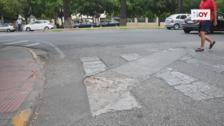 Vecinos de Sinforiano Madroñero exigen una mejora de la avenida