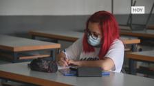 Los exámenes de la Ebau animan la vuelta a las aulas