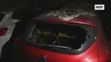 La Policía investiga un incendio intencionado en la barriada pacense de San Roque