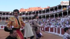 Emoción en la penúltima corrida de la Feria