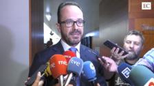 La oposición critica el discurso de investidura de Barbón:«Ha sido una intervención antidemocrática»