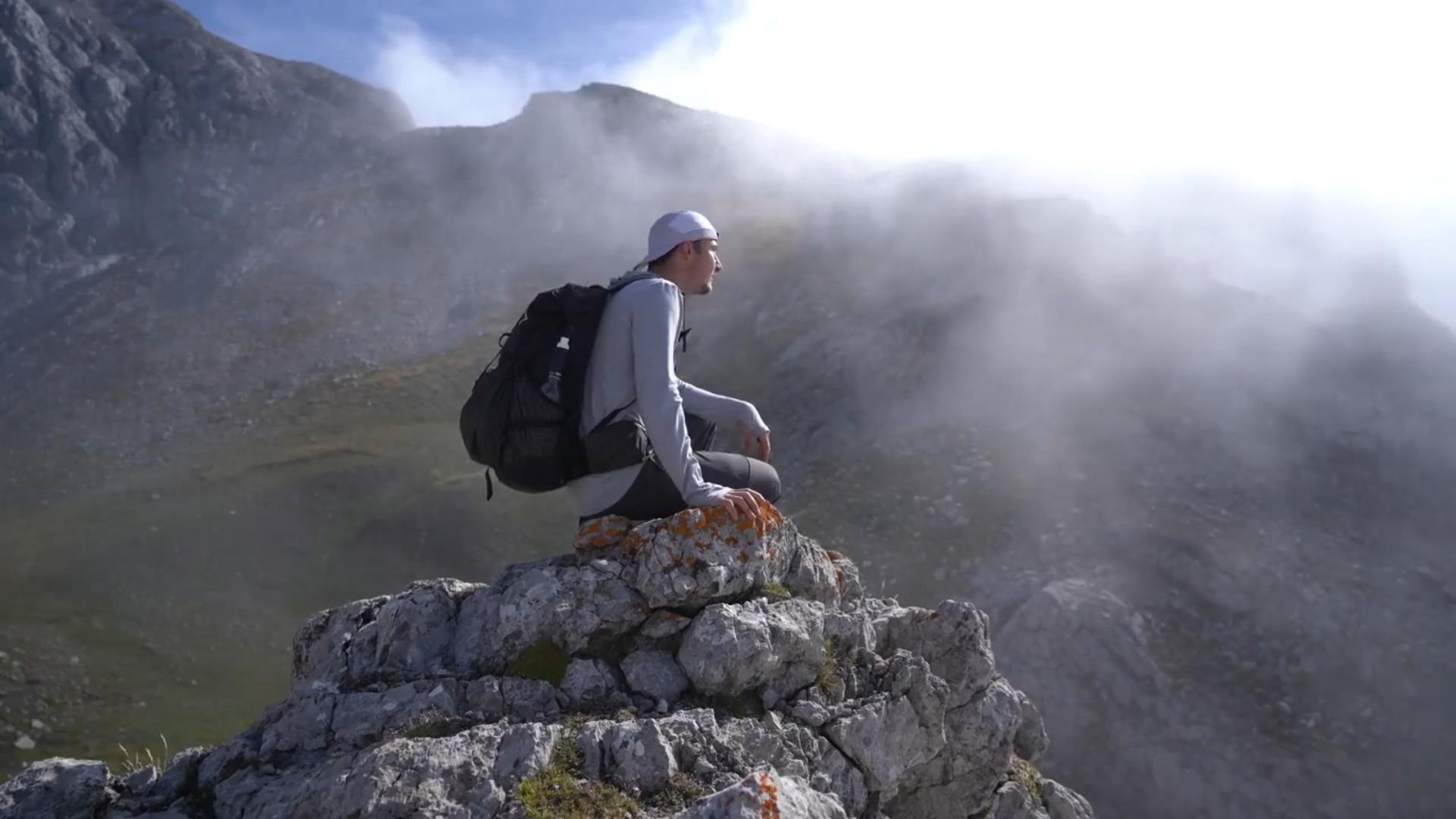 VIDEO: Recorrido en solitario de Kraig Adams por los Picos de Europa