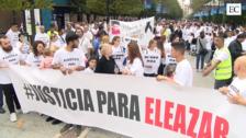 Multitudinaria manifestación para pedir justicia para Eleazar