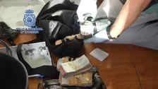 Doce detenidos en una operación antidroga en Asturias