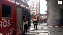 La estación de autobuses de ALSA de Gijón sufre un incendio