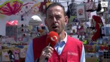 Alberto Flecha reportero por un día con EL COMERCIO