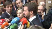 Pablo Casado: %u201CHoy Cayetana Álvarez de Toledo ha sido increpada. Pedimos al Gobierno firmeza%u201D
