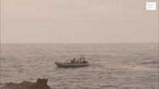 Continúa la búsqueda de la mujer que cayó al mar en Castrillón