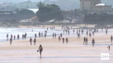 Las playas ya están abiertas a los bañistas