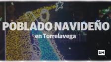 Poblado navideño en Torrelavega