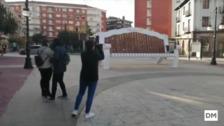 Torrelavega ya tiene su banco gigante