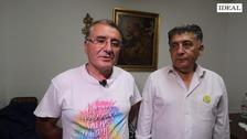 Manuel Martín y Mario Picazo continúan su encierro en protesta por la falta de luz en la zona