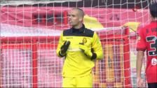Rubén Miño, nuevo portero de la Unión Deportiva Logroñés