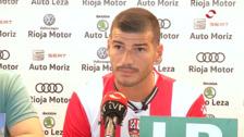 La Unión Deportiva Logroñés presenta a Javier Álamo