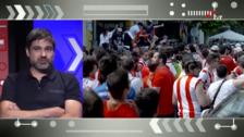 %u201CEl sábado se volvió a vivir el fútbol en Logroño%u201D