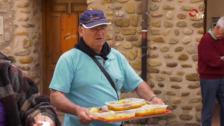 Comida popular en Torrecilla
