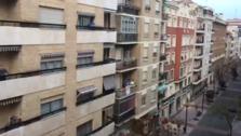 Aplausos en Logroño este domingo
