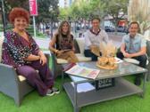 Nos visitan Teté Delgado y Kiko Ortega