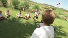 Campamento en el Campo de Golf de Logroño
