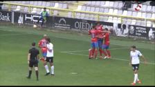 El CD Calahorra gana por  la mínima (0-1) en Burgos