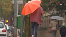 El verano se despide con lluvias