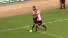 La UD.Logroñés logra en casa (3-2) su primera victoria del curso