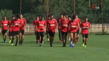 La Unión Deportiva Logroñés vuelve al trabajo