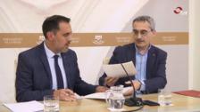 El Parlamento de La Rioja y la Universidad de La Rioja estrechan lazos