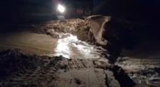 Reparación de daños por el temporal en la Gola del Pujol