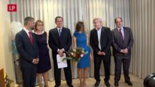 En casa de Consuelo Llobell, fallera mayor de Valencia 2019