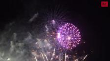 Quinta jornada de fuegos artificiales (viernes 13)