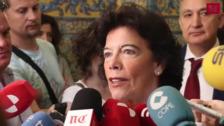 La ministra inauguró en Valladolid el XV Congreso de Estudios Clásicos 'El Foro de los Clásicos', que se desarrollará hasta el viernes en la UVa