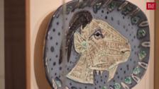 La sala de Las Francesas muestra una selección de cerámicas de Picasso