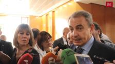 Declaraciones de José Luis Rodríguez Zapatero en la Cámara de Comercio de Valladolid