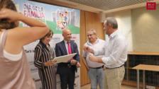 5.000 euros del VII Día de la Familia en Marcha Caixabank para Cruz Roja