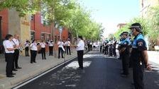 La Banda Municipal de Palencia rinde homenaje a los héroes de la pandemia