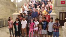 Valladolid recibe a los «pequeños embajadores» saharauis del programa 'Vacaciones en paz'