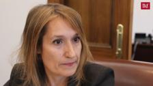 Rocío Lucas, consejera de Educación: «Da rabia que alumnos mejores que los de otras