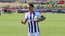 Presentación de Pedro Porro como nuevo jugador del Real Valladolid