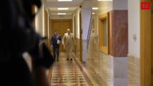 Francisco Igea comparece por primera vez en rueda de prensa posterior al Consejo de Gobierno