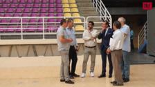 Óscar Puente visita el Polideportivo Pisuerga