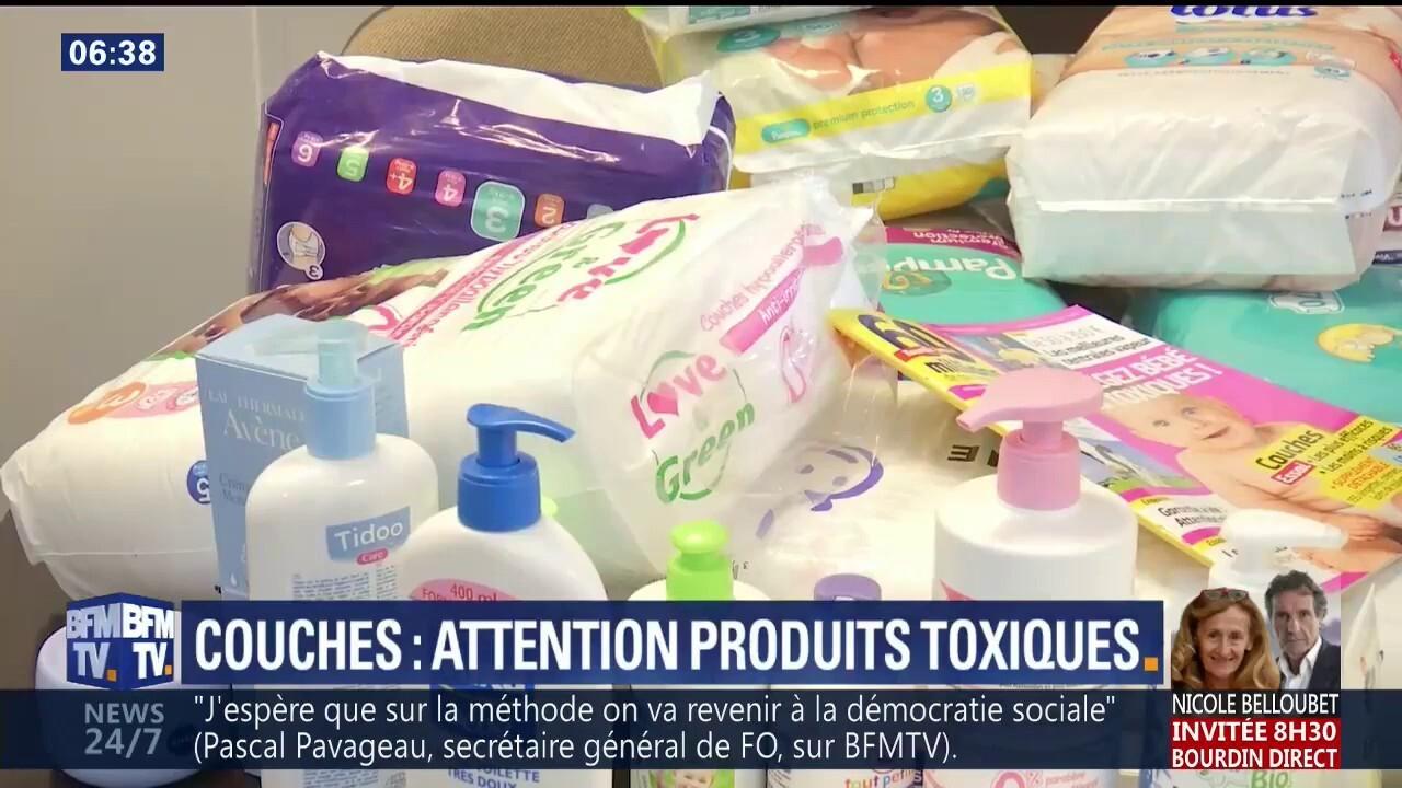 Du Glyphosate Encore Retrouvé Dans Des Couches Pour Bébé Mais Il Y