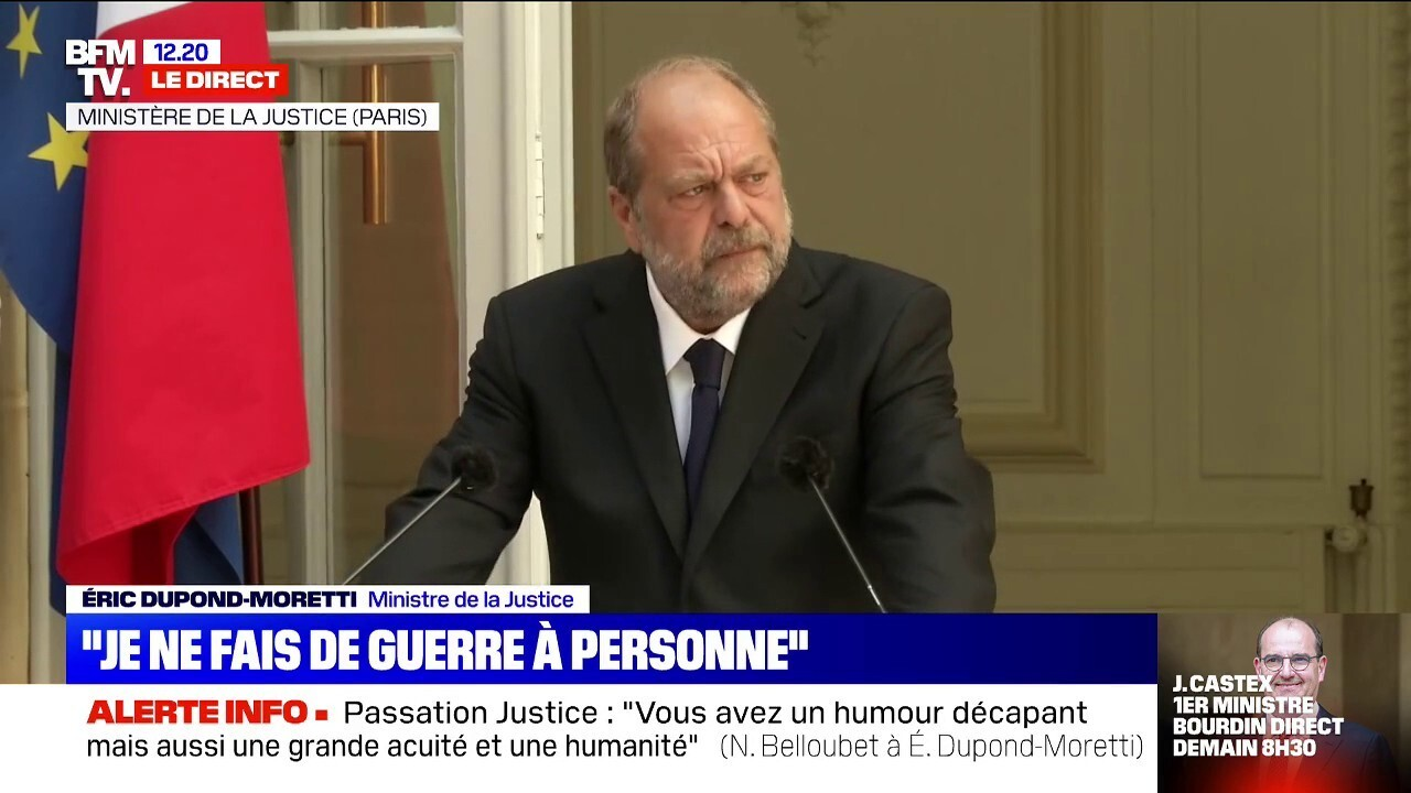 EN DIRECT - À Fresnes, Dupond-Moretti se félicite du taux d ...