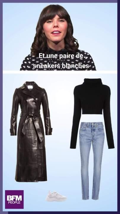 aae87f835d9577 Le look à copier de la semaine: le trench en cuir de Kylie Jenner