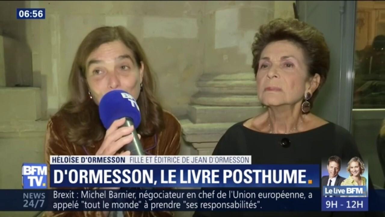 L oeuvre de Jean d Ormesson « n est pas morte », selon sa fille Héloïse 9d37220f4271