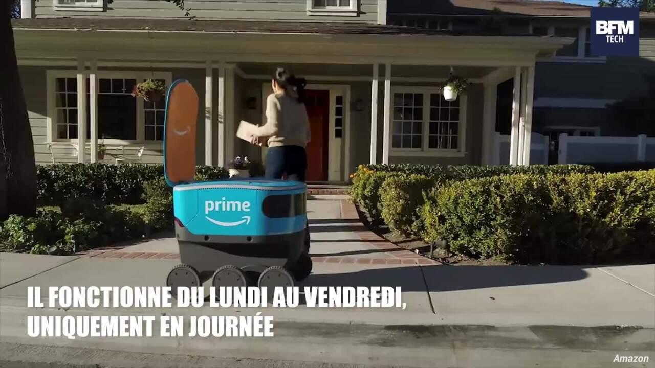 De Teste Son Livraison Robot Autonome Amazon JuKFT5c3l1
